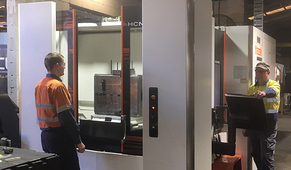 Mazak HCN 5000 at Global Manufacturing Group