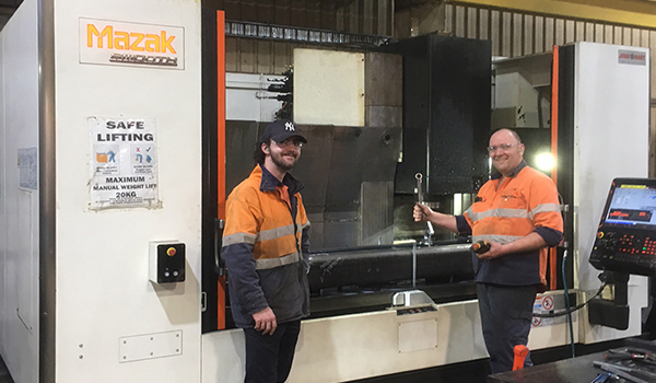 Mazak VTC 530-20 at Global Manufacturing Group