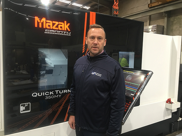 Grant Tinney Chief Executive QPE Advanced Machining