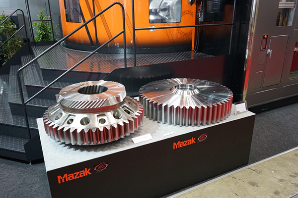 Gears produced on Mazak Integrex e 1600V