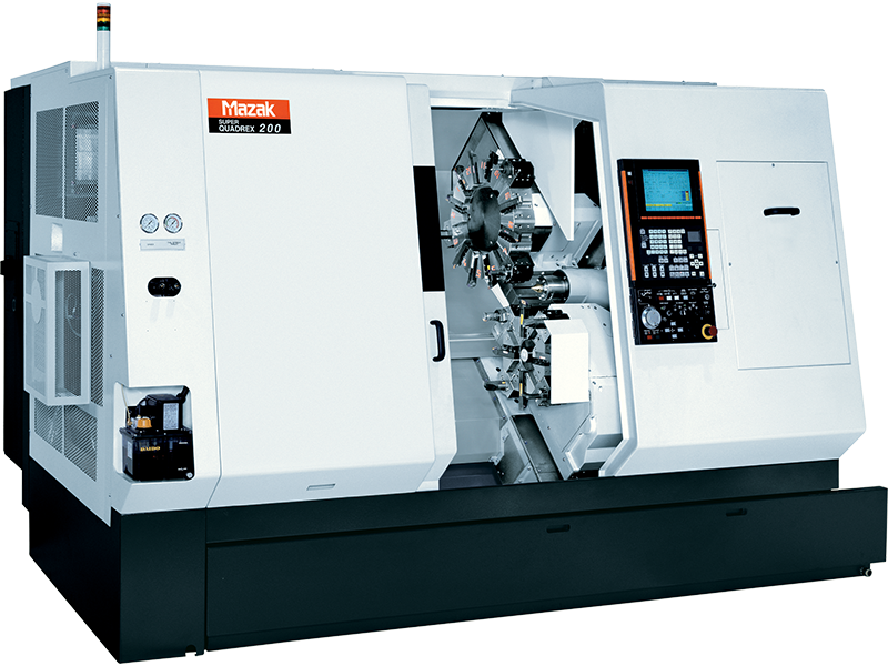 Mazak Super Quadrex 200