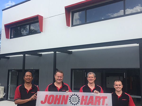 John Hart Newcastle Team