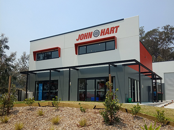 john hart newcastle office