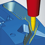 More Efficient Toolpaths with hyperMILL MAXX Machining