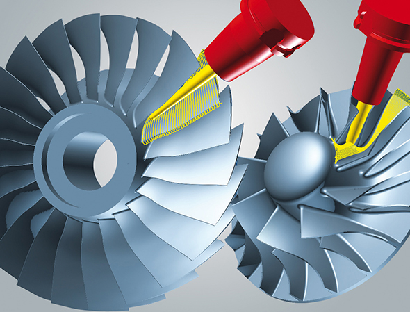 pioneering CAM strategies for multi blade machining